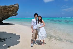 フォトウェディング・石垣島ビーチ撮影(景勝地散策プラン)