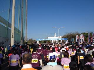 石垣島マラソン・スタート前